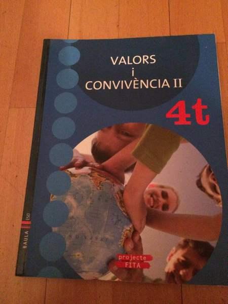 Valors i convivència II 4t ESO