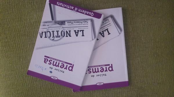 Taller de premsa ESO (llibre+quadern d