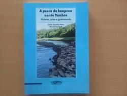 A pesca da lamprea no río Tambre