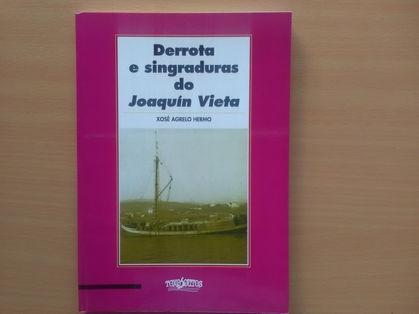 Derrota e singladura do Joaquín Vieta