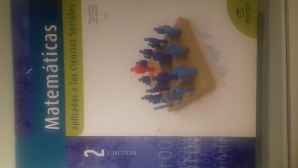 Matemáticas aplicadas a las CCSS  ed.Editex