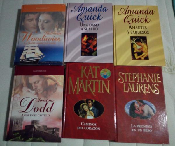 Novelas románticas varias