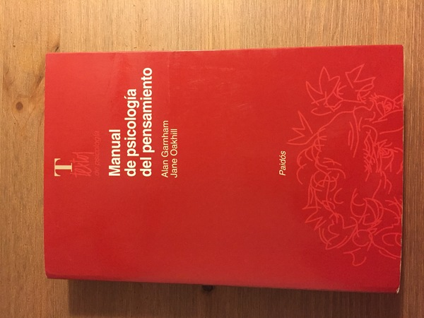 Manual de psicología del pensamiento.