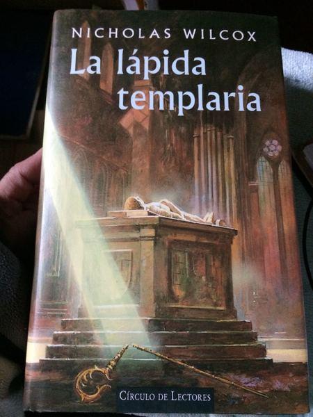 La lápida templaria.