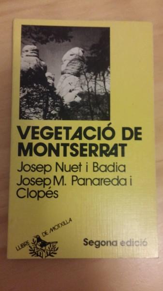 VEGETACIO DE MONTSERRAT
