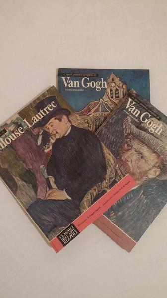 CLASSICI DELL'ARTE RIZOLI: T. LAUTREC y VAN GOGH