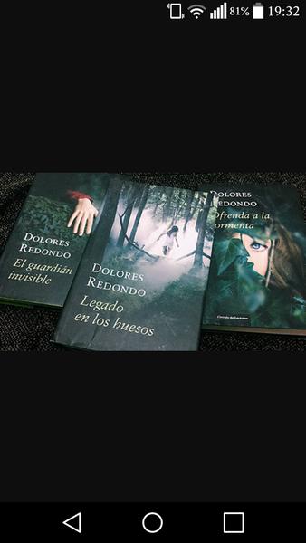 Trilogía Dolores redondo