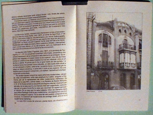 Libro, Santiago Güell i Grau, Arquitecte Vilafranq