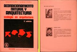 ACONDICIONAMIENTO NATURAL Y ARQUITECTURA