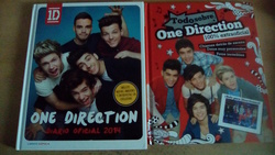 Lote libros One Direction