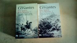 Don Quijote de la Mancha, volúmenes 1 y 2