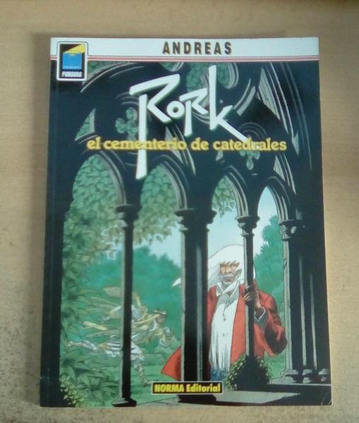 Cómic Rork, el cementerio de las catedrales