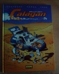 Cómic Rallye Raid Calagan