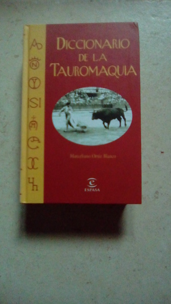 Diccionario de la Tauromaquia