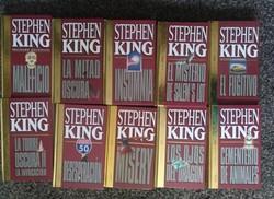 37 libros de Stephen King