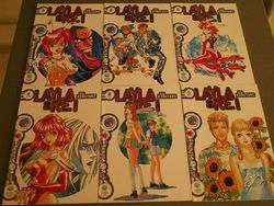 Manga  Layla y Rei