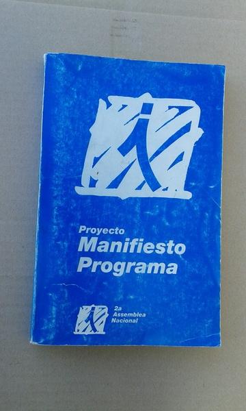 PROJECTE MANIFEST PROGRAMA.