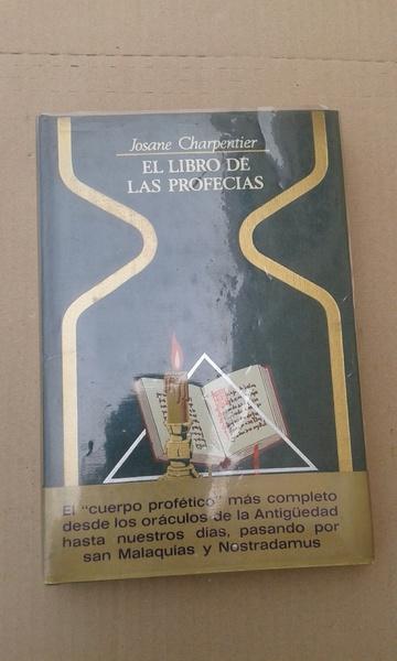 EL LIBRO DE LAS PROFECÍAS. JOSANE CHARPENTIER