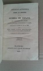 OBSERVACIONES SOBRE LA HISTORIA DE LA GUERRA
