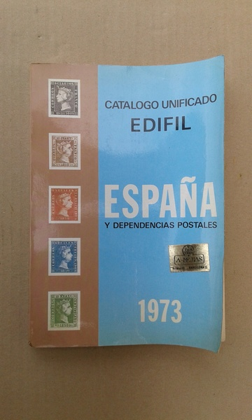 CATALOGO UNIFICADO EDIFIL ESPAÑA 1973