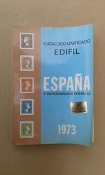 CATALOGO UNIFICADO EDIFIL ESPAÑA 1973