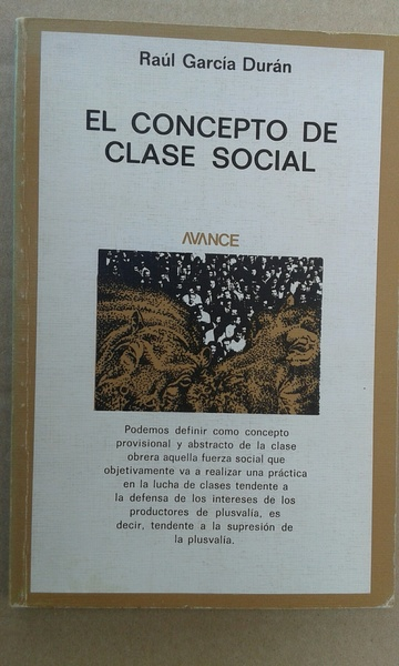 El concepto de clase social
