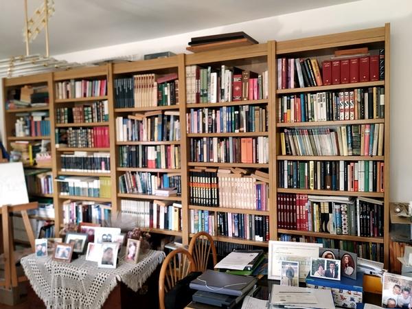 vendo  biblioteca