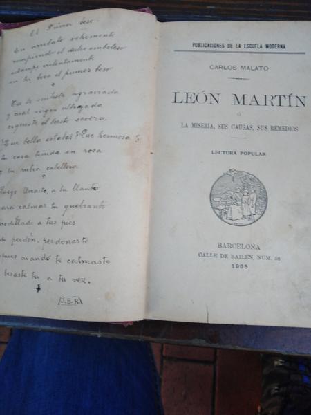 LEÓN Martín, la miseria, sus causas, sus remedios