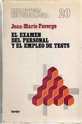 El examen del personal y el empleo de tests