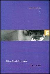 Filosofa de la mente *E.J.Lowe