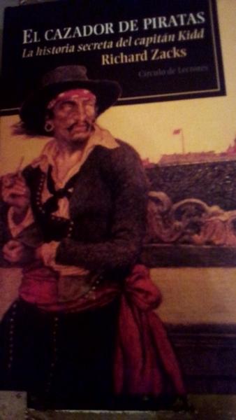 El cazador de piratas richard zacks