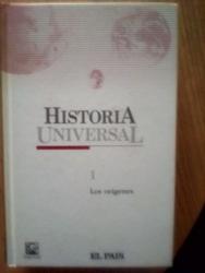 Colección de 7 tomos de la historia universal