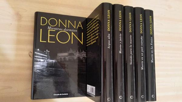6 libros de Donna Leon
