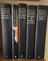 5 libros de Henning Mankell