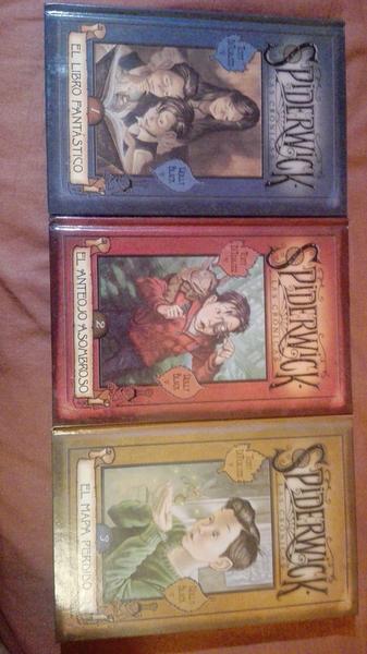 Las crónicas de Spiderwick - Libros 1, 2 y 3