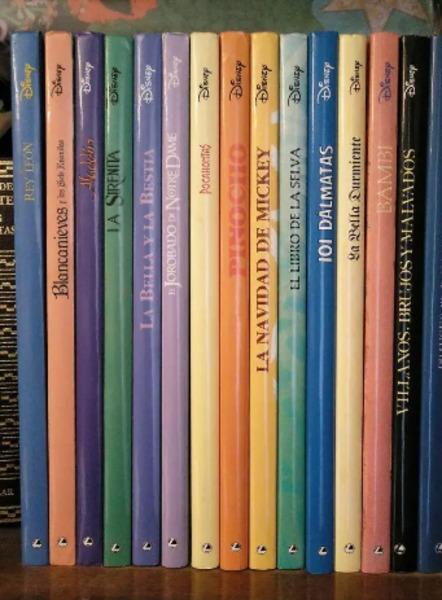 Colección clásicos Disney (15 libros)