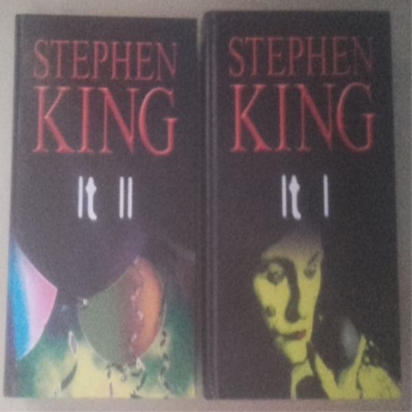 2 Libros Stephen King, IT, Terror, Misterio