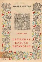 Leyendas épicas españolas *Anónimo