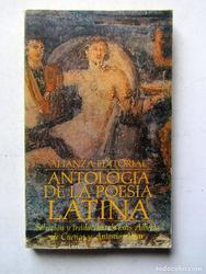 Antologia de la poesia Latina *Luis Alberto de Cue