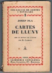 Cartes de Lluny *josep Pla