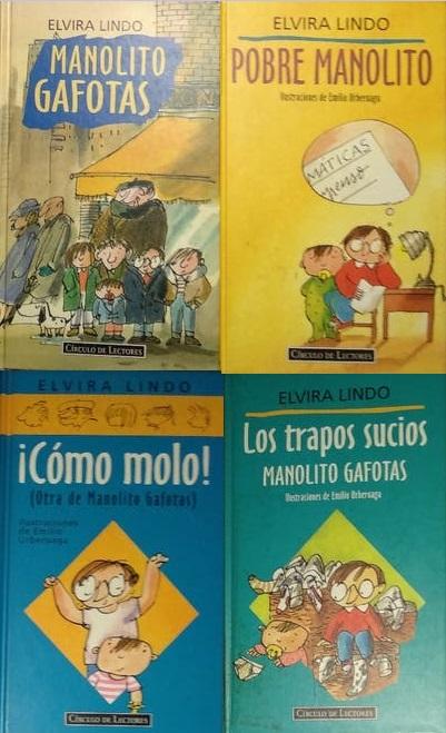 Lote 1 Manolito Gafotas