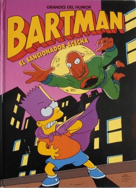 Los Simpson Bartman - El sancionador acecha