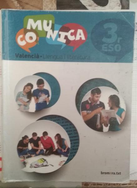 Comunica 3 ESO libro valenciano