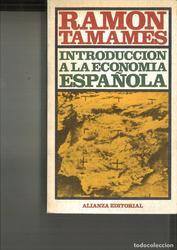 Introducción A La Economía Española.Ramón Tamames