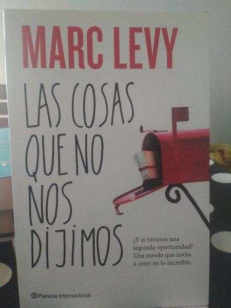 Las cosas que no nos dijimos, Marc Levy