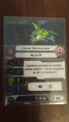 Carta promo luke skywalker