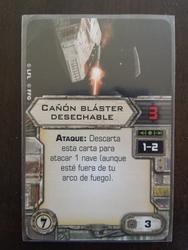 Cañon blaster desechable - Carta
