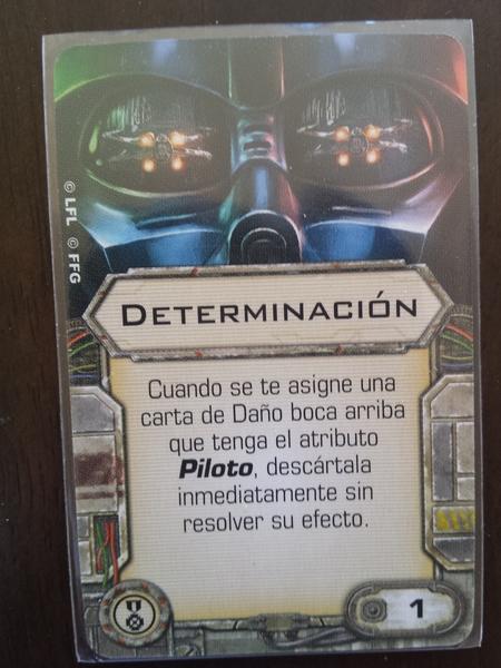 Determinación - Carta