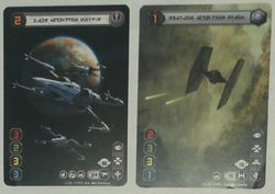 Carta Doble Promo Open X-wing.