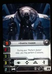 Darth Vader - Carta Promocional